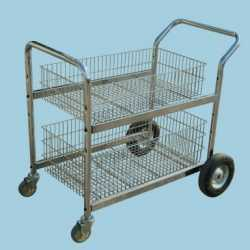 Office Shopping Cart For Newspaper