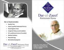 dar ul zaeef (old age home)