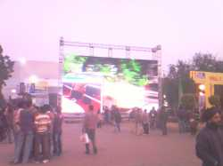 Bihar LED Screen/ LED Wall for Bihar election campaigning