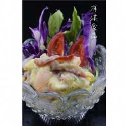 Kinds Of Seafood Product Named Kaisen Salad Seasoning Colorful Seafoods