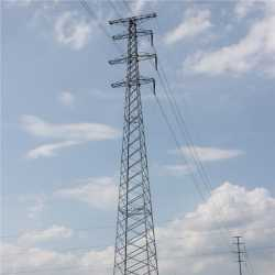 Galvanized Angle Steel Electric Tower