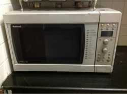 convection system microwave
