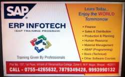 SAP Training At ERP Infotech Bhopal