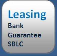 BG/SBLC/MTN/LC which are specifically for lease