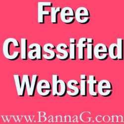 Free Classified India, BannaG Classified Site India