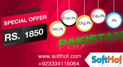 PK Domain Registration by prepaid card  and get free Web Hosting for One Year