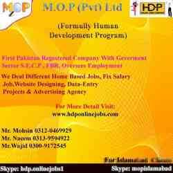 pakistan 1st registered company offer simple data entry job at your door step