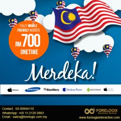 Merdeka Website - Fully Mobile Friendly