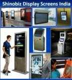LCD Touch scrollr kiosk/ Monitor/ panel/ Plasma Display  hire wall mount/ Indoor Vertical