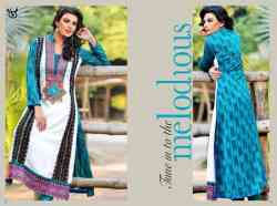 Crinkle Chiffon Ready to Wear Suits