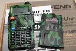 Walkie Talkie UV-5R Baofeng Dualband Camouflage Colour
