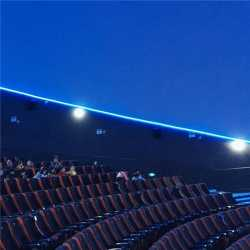 Tilted Dome Cinema Screens