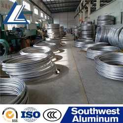 Factory Supply Different Size 8mm 10mm 1080 And 6082 Aluminum Wire Rod