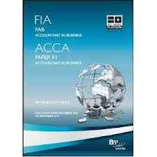 acca books and kits f1- f6