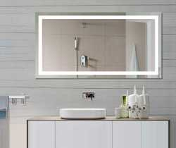 backlit bathroom mirrors led bath mirror