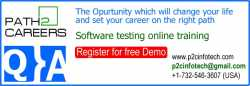 QA Online Training and Placement in New York City