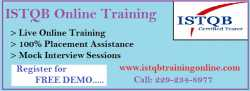 ISTQB Training Online and Job Placement Assistance