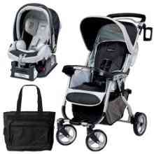 Peg Perego Vela Easy Drive Stroller - Southpole Travel System by Peg Perego