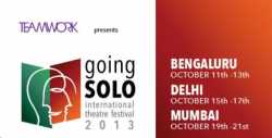 India's First Going  Solo International Festivals 2013