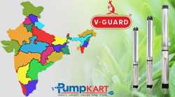 V-Guard Submersible Single Phase Pumps Dealers Online in India