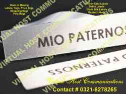 Labels, Tags, Woven Labels, Hang tags, Stickers, Barcode Printing