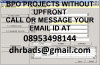 BPO NON VOICE DATA ENTRY PROJECTS WITH ADVANCE PAYMENT