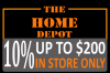 Home Depot Store and Online Coupons