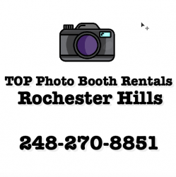 TOP Photo Booth Rentals Rochester Hills