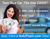 Auto Pawn - Title Loans